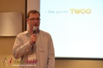 Lorenz Bogaert - CEO - Twoo at the 2012 Internet Dating Super Conference in Miami