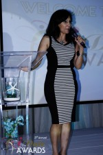 Comedienne Amy Tinoco at the January 24, 2012 Internet Dating Industry Awards Ceremony in Miami