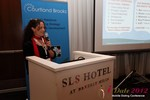 Beverly May (CEO and Founder of Minidates) at the June 20-22, 2012 L.A. Internet and Mobile Dating Industry Conference