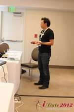 Andy Kim (CEO of Mingle)  at iDate2012 West