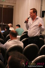 Audience questions during the Keynote session at the June 20-22, 2012 L.A. Internet and Mobile Dating Industry Conference
