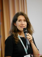Tanya Fathers (CEO of Dating Factory) at iDate2013 Europe