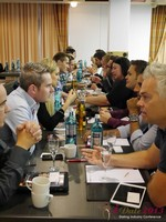 Speed Networking at the September 16-17, 2013 Mobile and Internet Dating Industry Conference in Koln