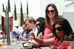 Lunch at the 2013 Beverly Hills Mobile Dating Summit and Convention