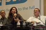 Tanya Fathers (CEO of DatingFactory) at iDate2013 Las Vegas