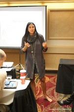Marni Battista (CEO of Dating with Dignity) at the January 16-19, 2013 Las Vegas Internet Dating Super Conference
