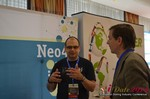Exhibit Hall, Neo4J Sponsor  at the 39th iDate2014 Germany convention