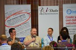 Wayne May of ScamSurvivors, Final Panel  at the 2014 Euro Online Dating Industry Conference in Germany