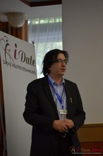 Francesco Nuzzolo, France Manager for Dating Factory  at the 2014 Germany Euro Mobile and Internet Dating Expo and Convention