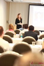 Jill James, COO of Three Day Rule Seminar On Partnership Models For Dating Leads To Online Dating at the 2014 Online and Mobile Dating Industry Conference in Los Angeles