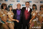Marc Lesnick & Mark Brooks (iDate Awards Thanks You!) at the 2014 iDateAwards Ceremony in Las Vegas held in Las Vegas