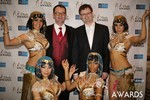 Mark Brooks & Markus Frind  at the 2014 Las Vegas iDate Awards Ceremony