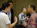 Business Networking  among C-Level Dating Industry Executives at the 2015 Asia Online Dating Industry Conference in Beijing