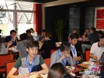 Lunch at the 41st International Asia iDate Mobile Dating Business Executive Convention and Trade Show
