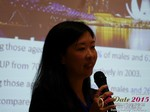 Violet Lim - CEO of Lunch Actually at the 2015 China Asia Mobile and Internet Dating Expo and Convention