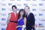Leila Benton-Jones, Renee Piane and Rachel MacLynn in Las Vegas at the January 15, 2015 Internet Dating Industry Awards