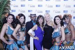 Renee Piane and Kristina Lynn at the January 15, 2015 Internet Dating Industry Awards Ceremony in Las Vegas