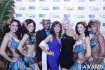 Renee Piane and Kristina Lynn at the 2015 iDate Awards
