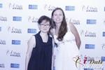 Irena Stepanova and Elena Kolyasnikova in Las Vegas at the January 15, 2015 Internet Dating Industry Awards