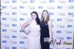 Genevieve Zawada and Sarah Ryan at the 2015 Internet Dating Industry Awards in Las Vegas