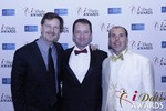 eHarmony's Grant Langston with Mark Brooks and Marc Lesnick in Las Vegas at the 2015 Online Dating Industry Awards