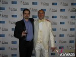 Arthur Malov and Marc Lesnick at the 2015 Las Vegas iDate Awards Ceremony
