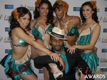 The 2015 iDate Award Dancers at the 2015 Internet Dating Industry Awards Ceremony in Las Vegas