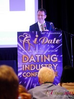 Mark Brooks - Publisher of Online Personals Watch at iDate Expo 2015 Las Vegas