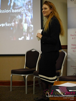 Megan Buquen CEO Matchmakers Circle  at the 12th Annual U.K. & E.U. iDate Mobile Dating Business Executive Convention and Trade Show