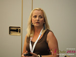 Krystina Trushnya - Publisher of Ukranian Dating Blog at the iDate Dating Agency Business Executive Convention and Trade Show