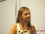 Svetlana Mukha - CEO of Diolli at the 45th iDate2016 Limassol