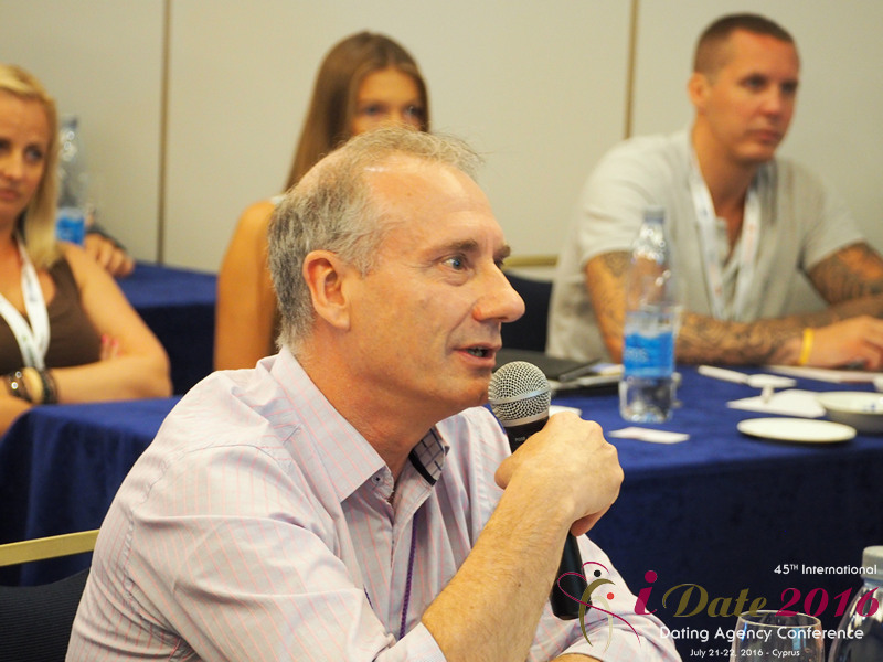 Questions from the Audience at the 2016 Premium International Dating Industry Conference in Limassol,Cyprus