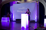 Jenny Gonzalez of Dating Factory Winner of Best Dating Software & Saas  at the seventh annual iDate Awards Ceremony