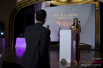 Svetlana Mukha Presenting the Best Up & Coming Dating Site Award at the January 26, 2016 Internet Dating Industry Awards Ceremony in Miami