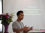 Monty Suwannukul (Product designer at Grindr)  at the 38th Mobile Dating Negócio Conference in L.A.