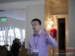 Shang Hsui Koo(CFO, Jiayuan)  at the 38th Mobile Dating Negócio Conference in L.A.