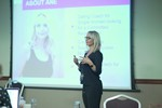 Ane Auret, CEO, presenting on Coaching Programs that work at the September 26-28, 2016 Londres Reino Unido Online and Mobile Dating Industry Conference
