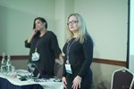 Genevieve Zawada and Arlene Vasquez reporting on the 2016 State of Matchmaking in Europe and the U.K.  at the 2016 Euro Internet Dating Industry Conference in Londres