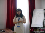 Elena Vygnanyuk at the iDate Premium International Dating Business Executive Convention and Trade Show