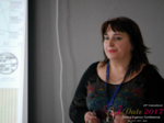 Irina Matulkova at the July 19-21, 2017 Dating Agency Business Conference in Misnk, Belarus
