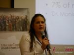 Dr. Julia Meszaros - Professor at Lebanon Valley College at the 48th iDate Premium International Dating & Dating Agency Indústria Trade Show